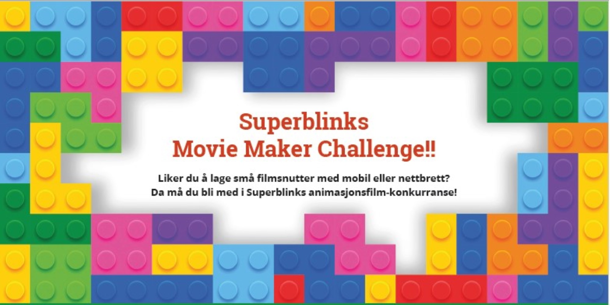 Superblnk movie maker challenge